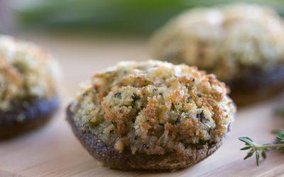 Parmesan Stuffed Mushrooms